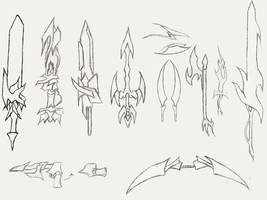 Concept Fantasy Weapons Set 01 by the14thgod