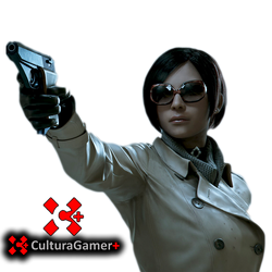 Ada Wong Resident Evil 2 remake PNG by CulturaGamer