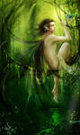 Green Elf----Laiquendi by Ginger-J