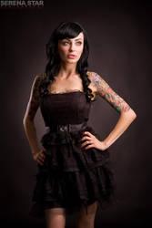 The Short Black Dress by OfficialSerenaStar