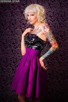 Purple Party Dress by OfficialSerenaStar