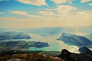 Mount Burgenstock by lauraturner27