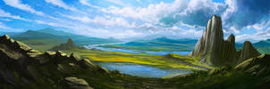 View of the valley by lepyoshka