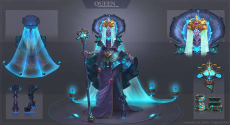Queen by lepyoshka