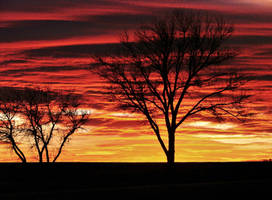 Nebraska Sunset by redsox1830