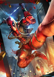 Deadpool by Lordigan