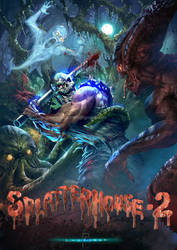 Splatterhouse 2 by Lordigan