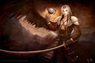 The One Winged Angel by AlineMendes