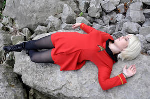Red Shirts Die First by Red-Ribbon-Cosplay