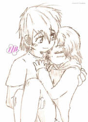 Anime Couple by Cloudkitty