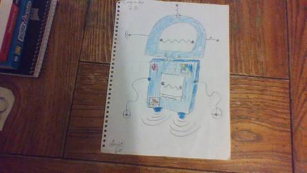 Inktober #1 Computo-Bot 2.0 by SuperKoalaYT