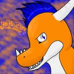 Yoshizzer Art Trade by Chocolate-Pikachu