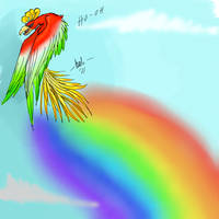 Ho-oh by NullAndArt