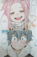Nalu and Gruvia children by Kururi-Tai