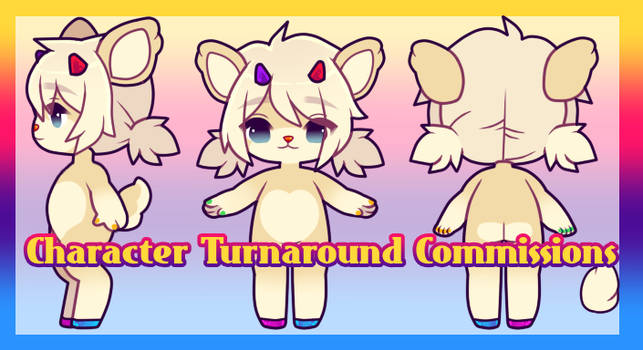 Character Reference Commissions: OPEN by MyuHime