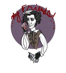 Sweeney Has a Razr Phone by esscoh