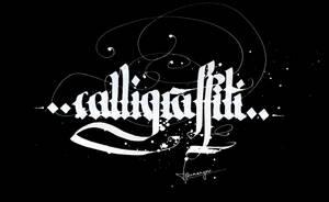 Calligraffiti by Typomonger