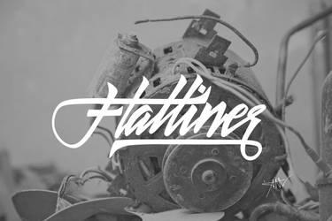 Flatliner by Typomonger
