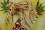 Rasta lion by ahsr