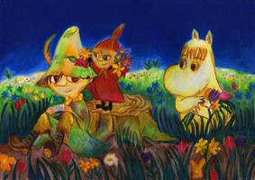 Moomin fanart by ahsr