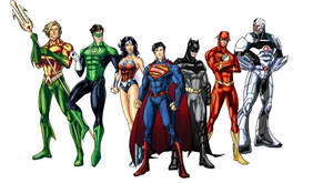 New 52 Justice League more WIP by randomality85