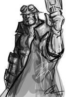 Hellboy by randomality85