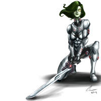 Gamora by randomality85