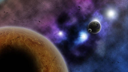 SpaceArt Wallpaper 12 by soratofx