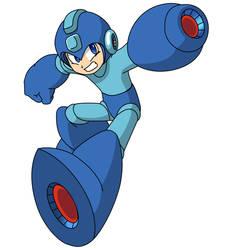 Megaman Vector by soratofx
