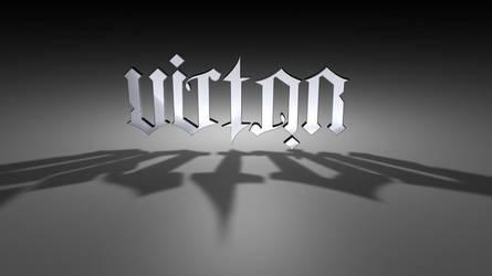 Ambigrama Victor by soratofx