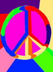 Peace and Freedom to all by Elementalpanels