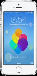iOS 7 | Lockscreen Wallpaper by sumankc