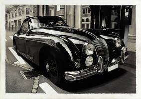 Jaguar XK150 by dzart3