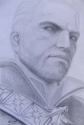 Geralt of Rivia (in game). The witcher 3 wild hunt by Tatooa2001