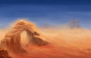 Sandstorm by IClimbPyramids