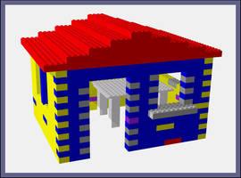 Lego House by aquifer
