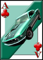 Ace Card Mustang by curtydc