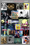 Influence Map (commercials only) by madebyloop