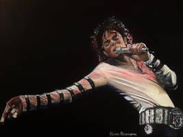 Michael Jackson painting by xKurrMeowx