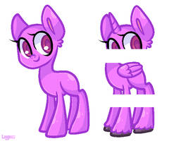 PONY BASE FREE TO USE by Loojiom