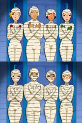 Totally Spies - 4 Mummies by mummiesnstuff