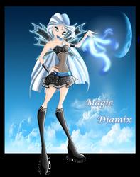 Luna's Magic Diamix by xXDiamondStarXx