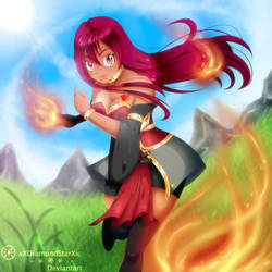 [Fairy Tail Request] Scarlet: Here comes the fire! by xXDiamondStarXx