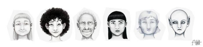 Retratos by AliciaTapia