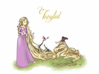 (Very) Tangled by AliciaTapia