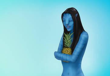 Pineapple by Ekira-Txonite