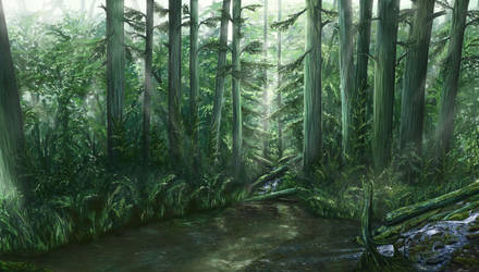 Enchanted forest by Ekira-Txonite