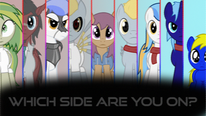 Choose your side (Pegasus Device) by BronyDanceParty