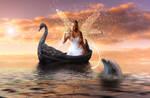 Golden lake by bcamelier