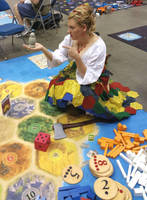 Settler of Catan Chastising the Robber by squirrelbrained